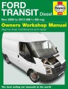 Ford Transit Diesel 2006-2013 Haynes Service Repair Manual